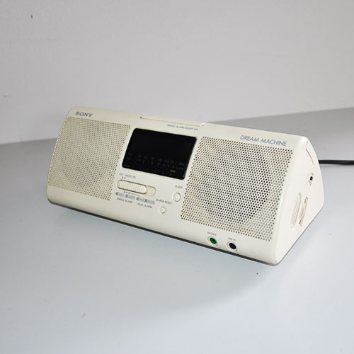 SONY Dream Machine - Orologio radio sveglia - Anni '80